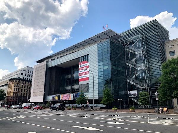 Popular tourist site Newseum in Washington D.C.