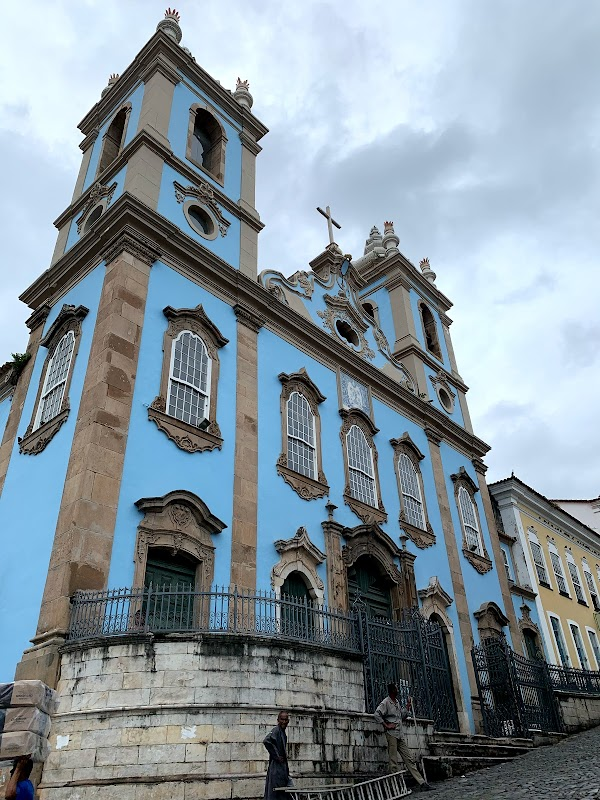 Popular tourist site Church of the Third Order of Our Lady of in Salvador