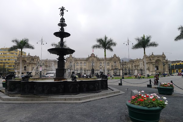 Popular tourist site Plaza De Armas De Lima in Lima