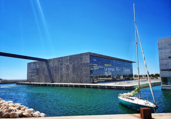 Popular tourist site MuCEM – Museum of Civilizations of Europ in Provence
