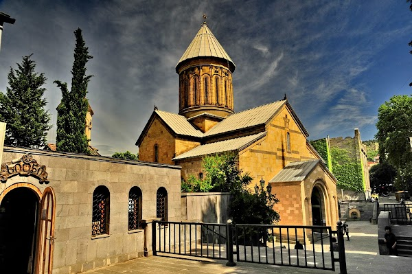 Popular tourist site Sioni Cathedral in Tbilisi