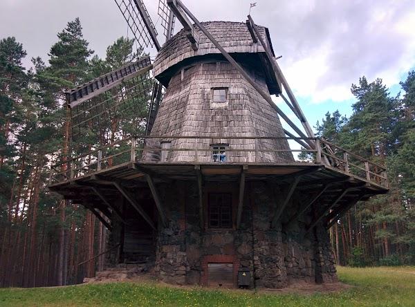 Popular tourist site The Ethnographic Open-Air Museum of Latv in Riga