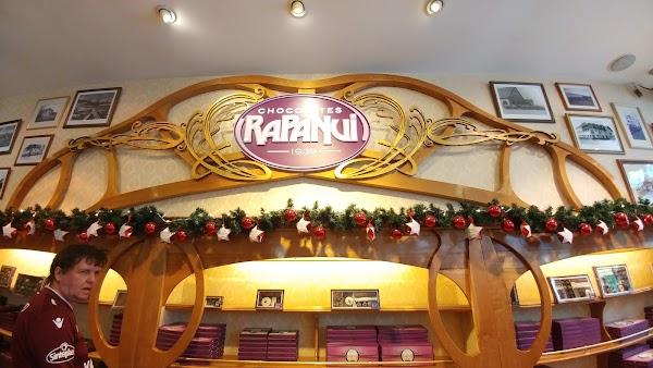 Popular tourist site Chocolates Rapa Nui in Bariloche