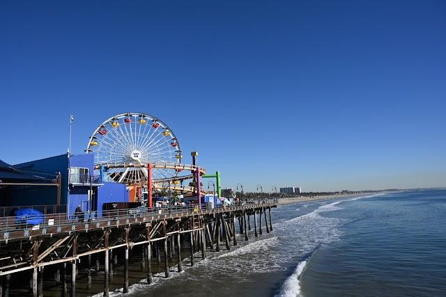 List item Santa Monica Pier image