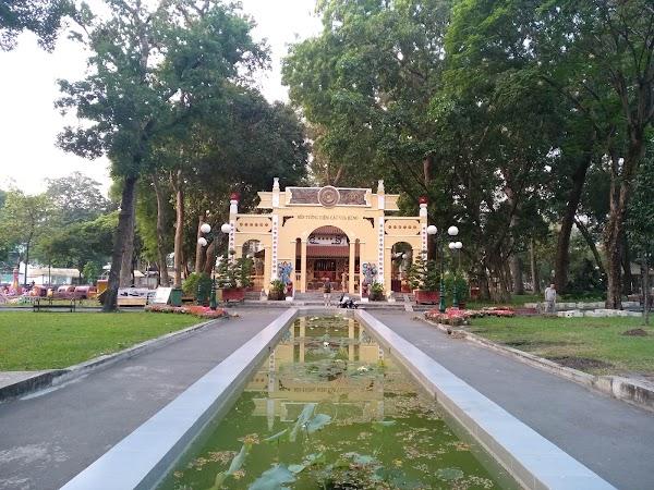 Popular tourist site Tao Đàn Park in Ho Chi Minh City