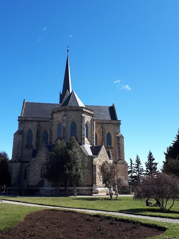 Popular tourist site Plaza Catedral in Bariloche