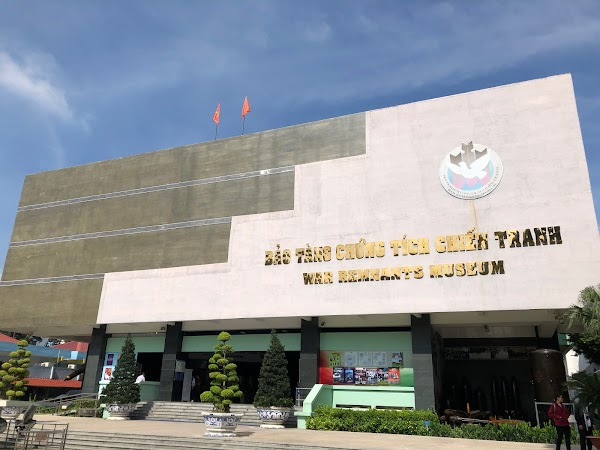 Popular tourist site War Remnants Museum in Ho Chi Minh City