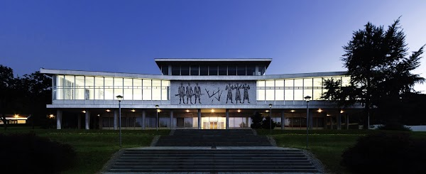 Popular tourist site Museum of Yugoslavia in Belgrade