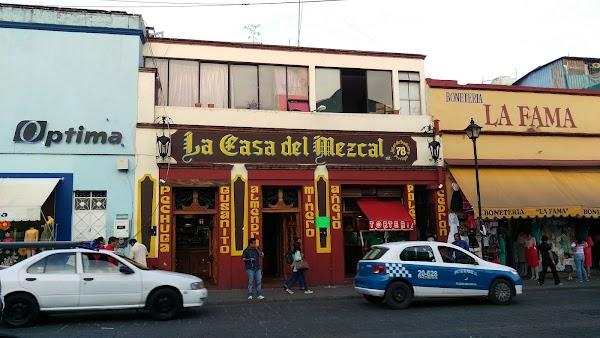 Popular tourist site Mercado Benito Juárez in Oaxaca