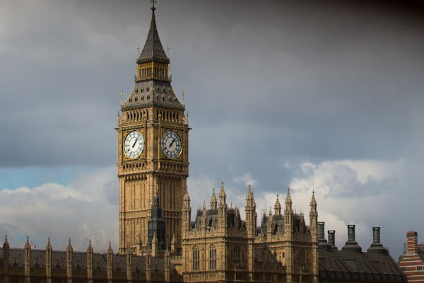 Popular tourist site Big Ben in London