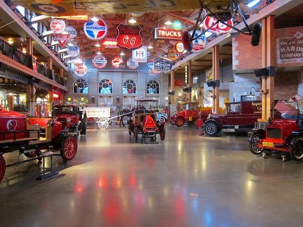 Popular tourist site Gasoline Alley Museum in Calgary