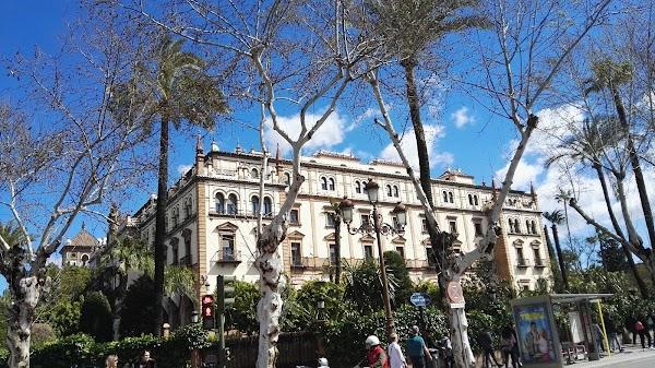 Popular tourist site Royal Alcázar of Seville in Seville