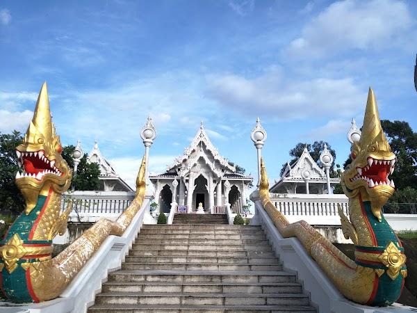 Popular tourist site Wat Kaew in Krabi