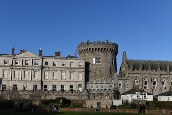 Popular tourist site Dublin Castle in Dublin