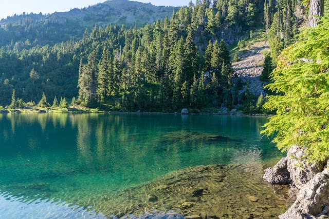 Upper Lena Lake Trail image