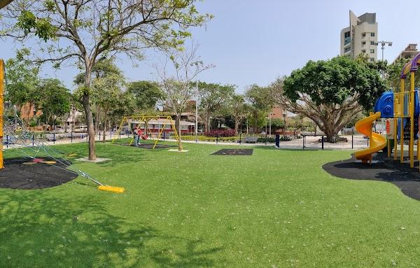 Popular tourist site Bosques del Norte Park in Barranquilla