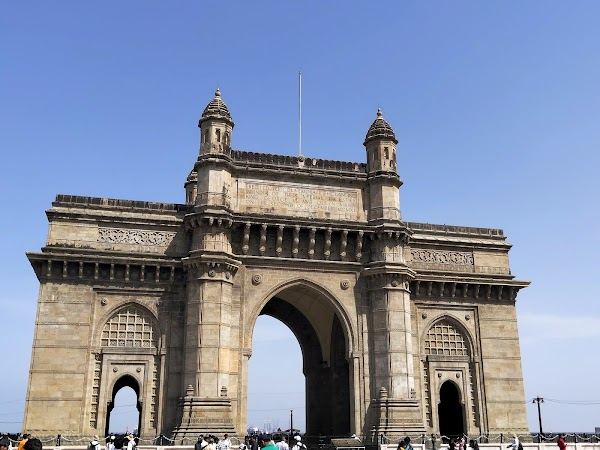 Popular tourist site Gateway Of India Mumbai in Mumbai