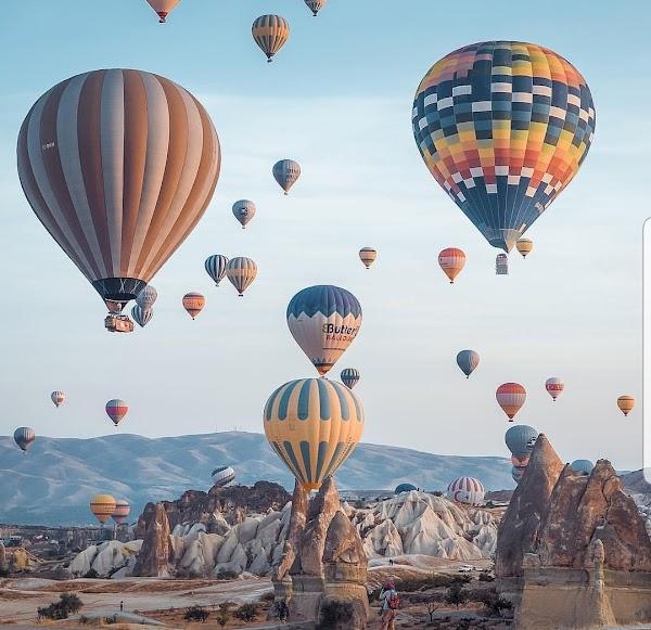 Popular tourist site Devrent (Imaginary Valley) in Cappadocia