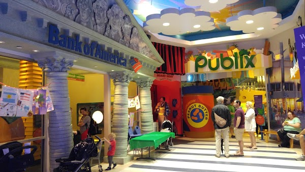 Popular tourist site Miami Children's Museum in Miami