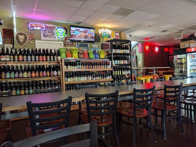 Chuck's Hop Shop & kegs