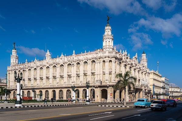 Popular tourist site Great Theatre of Havana in Havana