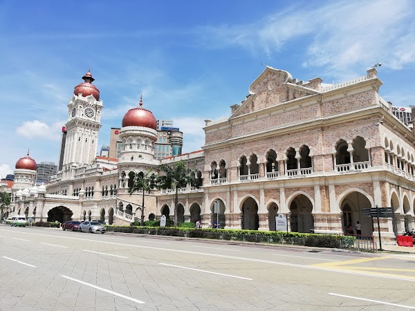 Popular tourist site Sultan Abdul Samad Building in Kuala Lumpur