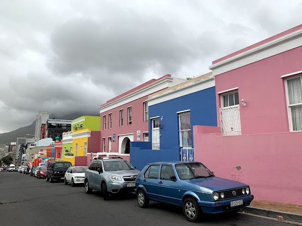 Popular tourist site IZIKO BO-KAAP MUSEUM in Cape Town