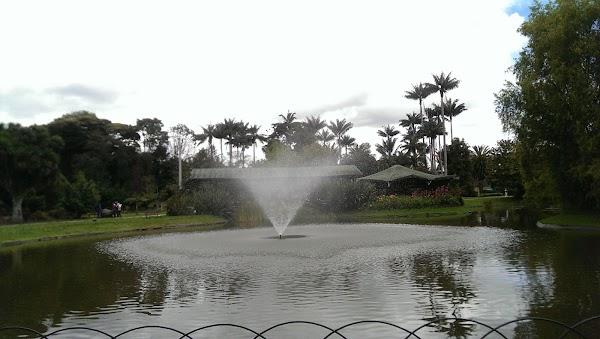 Popular tourist site Bogotá Botanical Garden in Bogota