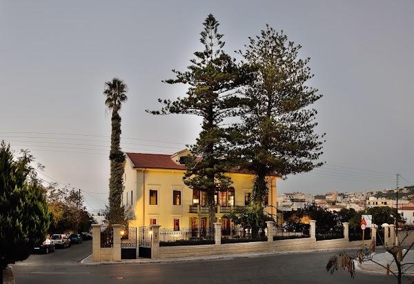 Popular tourist site Eleftherios Venizelos' House in Chania