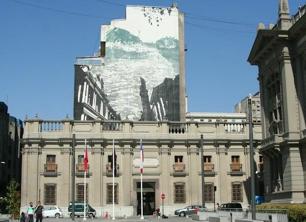 Popular tourist site Museo Chileno de Arte Precolombino in Santiago