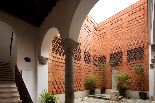 Popular tourist site Museo Textil de Oaxaca in Oaxaca