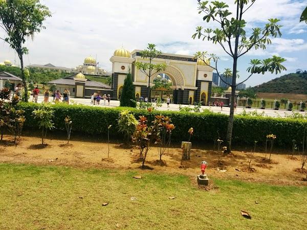 Popular tourist site National Palace in Kuala Lumpur