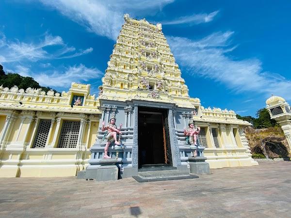 Popular tourist site Arulmigu Balathandayuthapani Temple, Pen in Penang