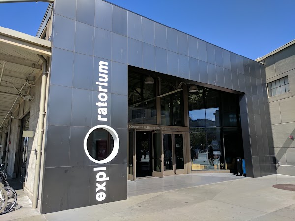 Popular tourist site Exploratorium in San Francisco