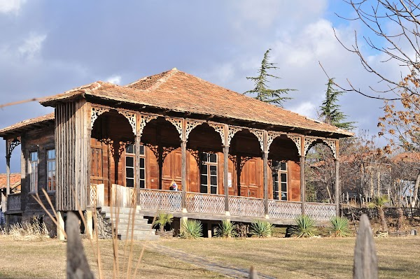 Popular tourist site Open Air Museum of Ethnography in Tbilisi