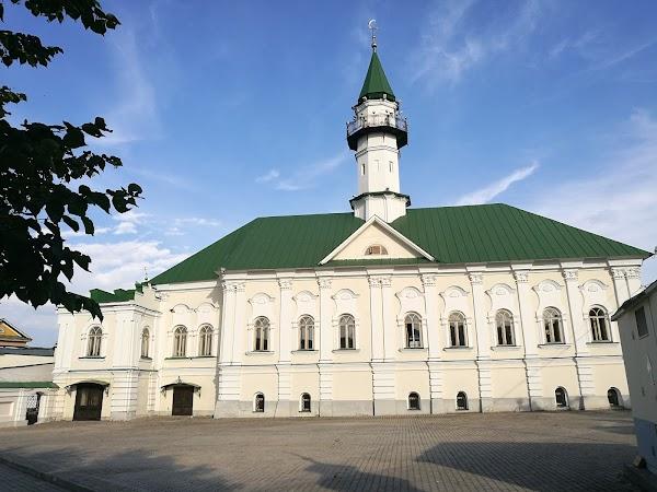 Popular tourist site Mardzhani Mosque in Kazan