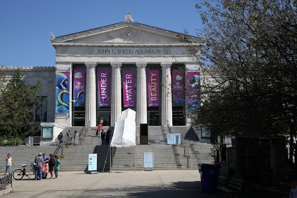 Popular tourist site Shedd Aquarium in Chicago