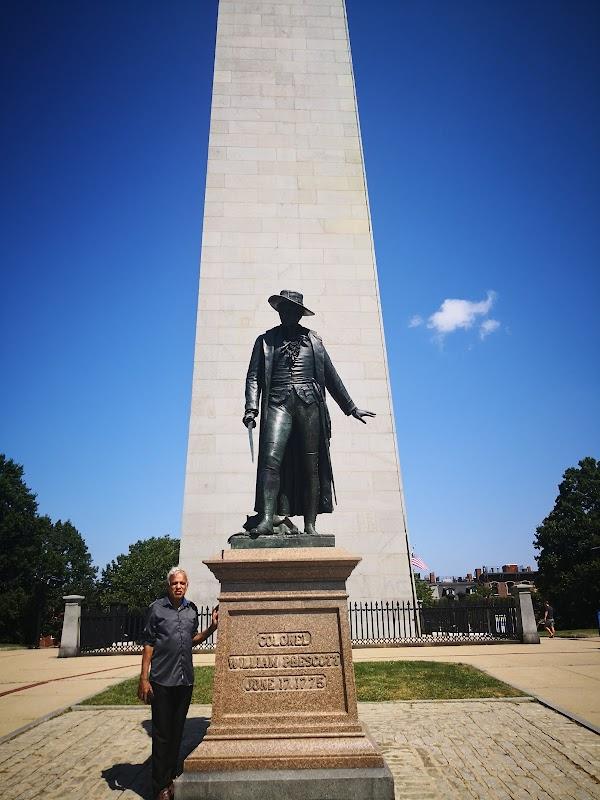Popular tourist site Boston National Historical Park in Boston
