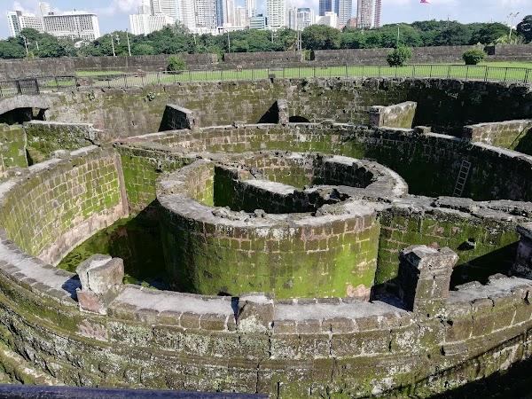 Popular tourist site Baluarte de San Diego in Manila