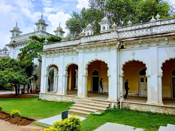 Popular tourist site Chowmahalla Palace in Hyderabad