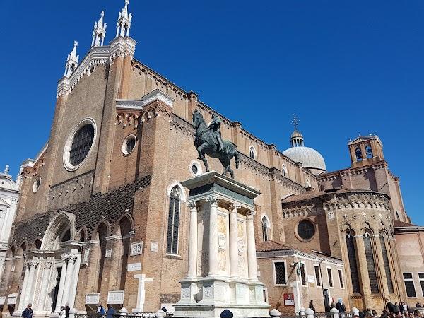 Popular tourist site Basilica dei Santi Giovanni e Paolo in Venice