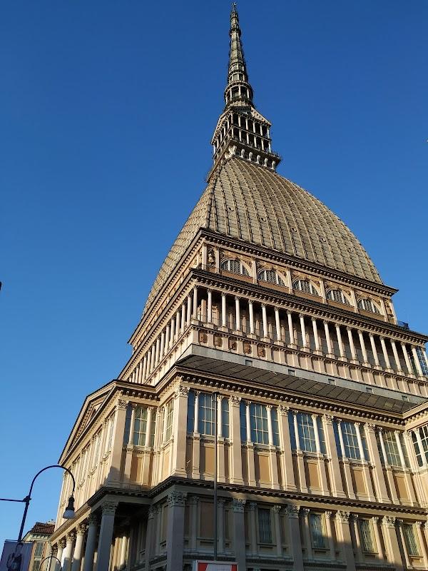 Popular tourist site Mole Antonelliana in Turin
