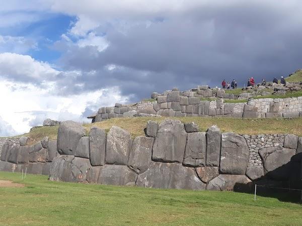 Popular tourist site Saqsaywaman in Cusco