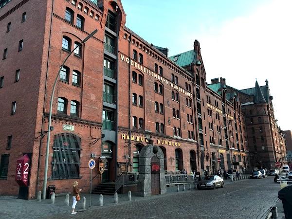 Popular tourist site Hamburg Dungeon in Hamburg