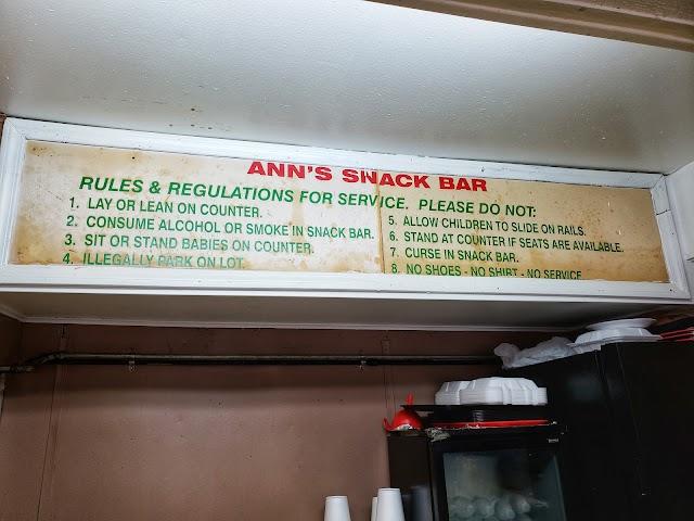 Ann's Snack Bar