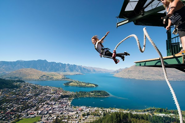 Popular tourist site AJ Hackett Bungy Ledge Bungy and Swing in Queenstown