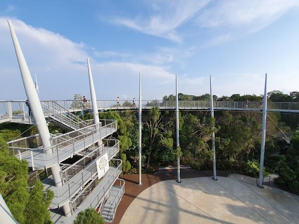 Popular tourist site The Habitat Penang Hill in Penang