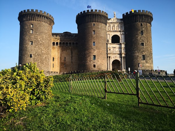 Popular tourist site Castel Nuovo in Naples