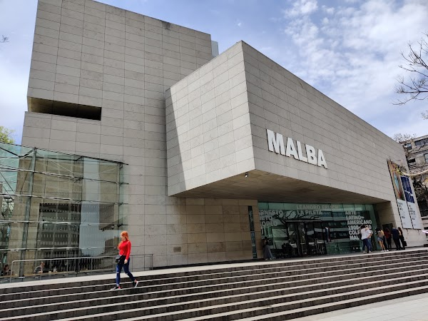 Popular tourist site MALBA in Buenos Aires