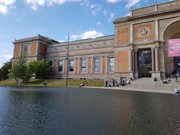Popular tourist site SMK – Statens Museum for Kunst in Copenhagen